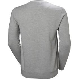 Helly Hansen HH Logo Suéter de cuello redondo Hombre, gris